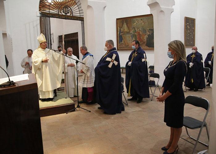 La alcaldesa asiste al acto de entrega del Collar Mozárabe al arzobispo de Toledo, Francisco Cerro