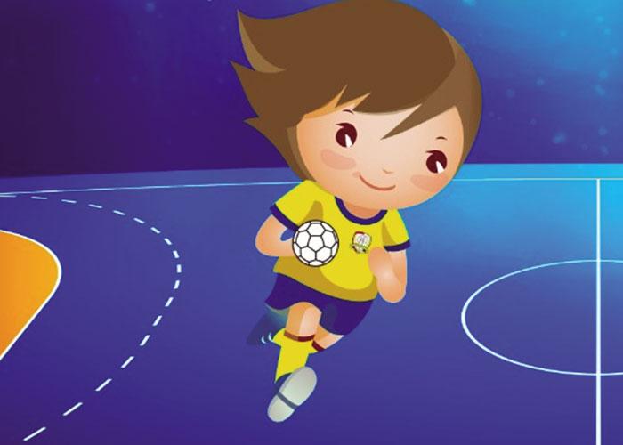 Juega al balonmano con el Caserío