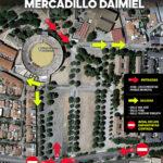 El Mercadillo Municipal de Daimiel vuelve este martes