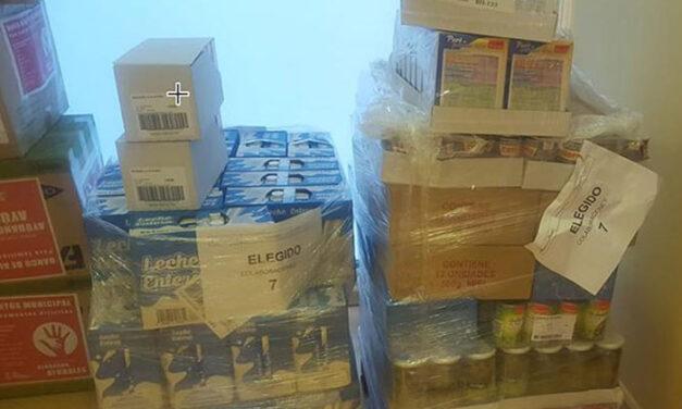 El Banco de Alimentos Municipal sigue sumando apoyos