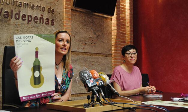Valdepeñas marida vino y música en julio en las VIII 'Notas del Vino'