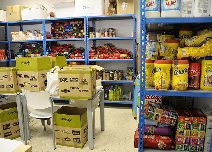 Boadilla recoge más de 9.000 kilos de alimentos y numerosos productos de droguería e higiene en la campaña solidaria promovida por el Ayuntamiento