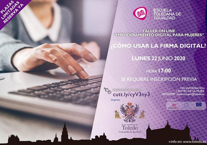 El Ayuntamiento de Toledo retoma las actividades de la Escuela Toledana de Igualdad con un taller sobre herramientas digitales