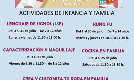 El Centro de Juventud de Collado Villalba organiza un completo programa de actividades 'on-line' para niños y jóvenes durante el próximo mes de julio