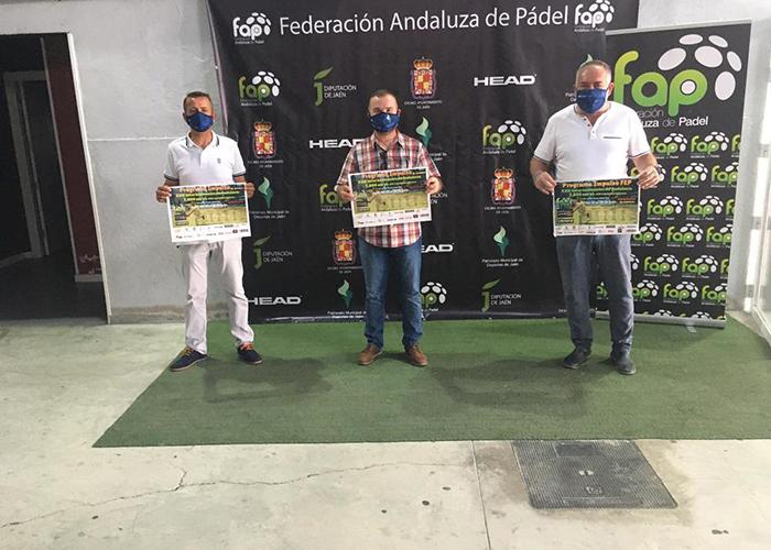 El Ayuntamiento de Jaén organiza los XXII Internacionales de Andalucía 'ABS 6.000 Programa Impulso' de Pádel
