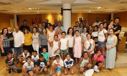 Getafe echará de menos este verano a los niños y niñas saharauis del proyecto 'Vacaciones en Paz'