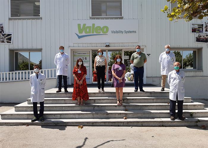 Ayuntamiento de Martos y Gobierno valoran en sendas reuniones con Valeo y sindicatos el plan de impulso al sector de la automoción