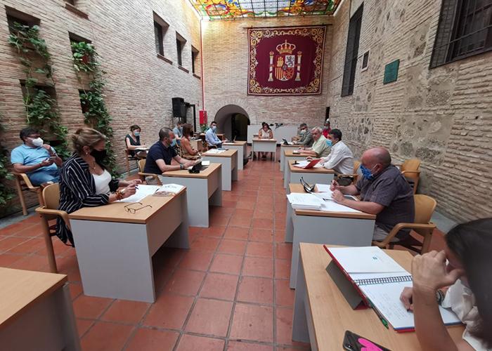 Aprobada por unanimidad la modificación de crédito que permitirá destinar medio millón a empresarios y comerciantes de Toledo
