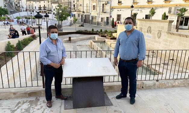 La ciudadanía conquista un nuevo espacio con la remodelación de la plaza de la Fuente de la Villa de Martos
