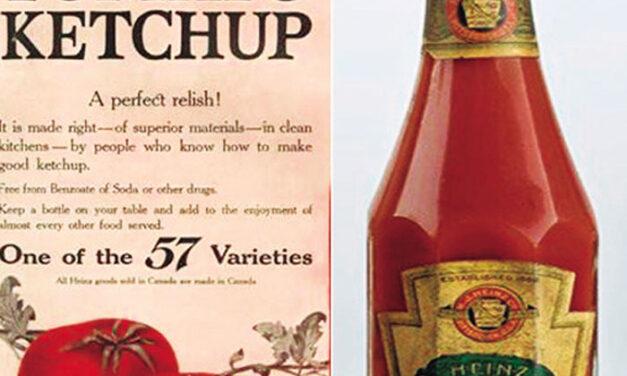 Kétchup, la salsa más conocida del mundo