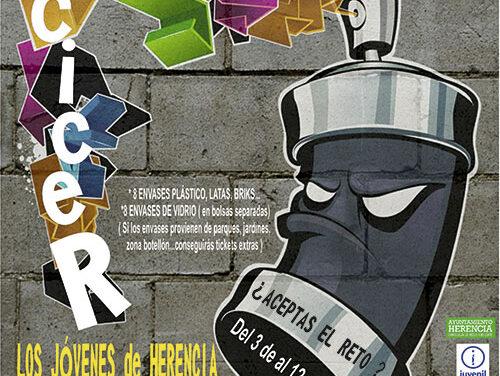 """Los jóvenes de Herencia """"van a dar mucho la lata"""" con la nueva campaña de concienciación de reciclaje"""