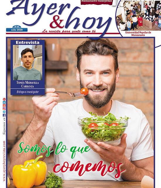 Ayer & hoy – Manzanares-Valdepeñas – Revista Julio 2020