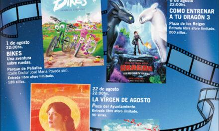El Cine de Verano inunda las plazas y parques de Collado Villalba en agosto