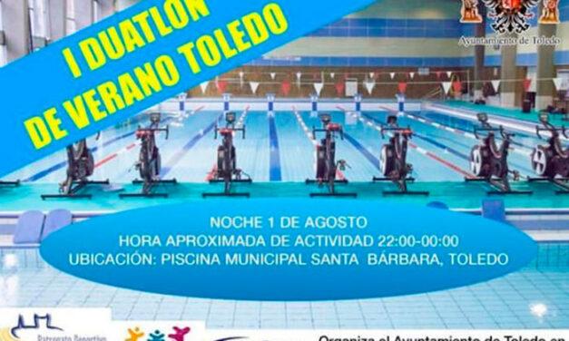 'Toledo alterna' propone para este sábado una prueba gratuita de duatlón en bicicleta y natación para jóvenes en Santa Bárbara