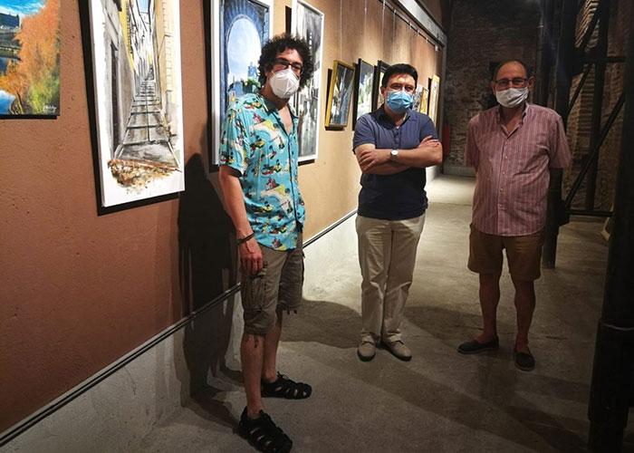 Se retoma el pulso cultural de la ciudad con la reapertura de la Cámara Bufa con una muestra de pintura de autores toledanos