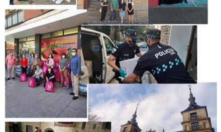 El Ayuntamiento de Toledo destaca la importancia del trabajo en red y el voluntariado durante la crisis del coronavirus