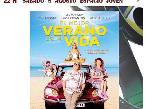 """""""El mejor verano de mi vida"""" se proyecta este sábado en el Espacio Joven dentro del ciclo de Cine de Verano"""