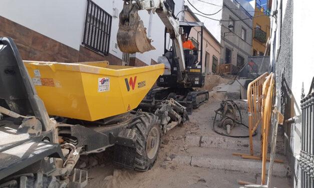 El Ayuntamiento de Jaén tendrá listas a finales de agosto las obras de adecuación integral de la calle Cruz de La Magdalena