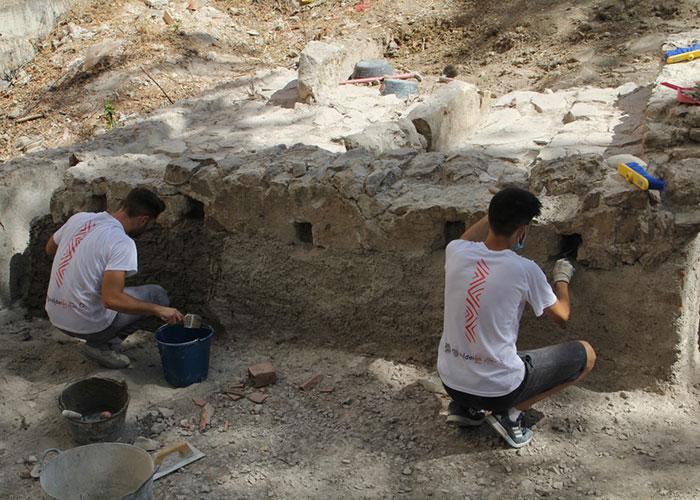 El Ayuntamiento de Jaén halla en Marroquíes Bajos una tenería musulmana que se pondrá en valor gracias a los nuevos trabajos previstos en este yacimiento arqueológico