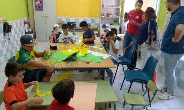 Cien familias han sido atendidas en el programa de conciliación puesto en marcha por el Ayuntamiento de Martos