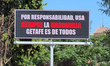 La Policía Local de Getafe ha cursado 195 denuncias por no usar mascarilla en la vía pública