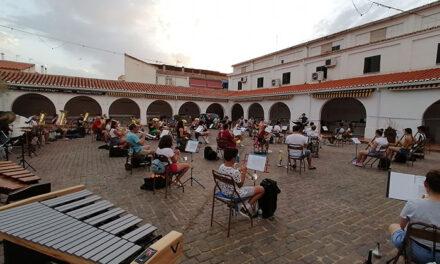 La banda de música 'Julián Sánchez-Maroto' ofrece este sábado su primera actuación tras la pandemia