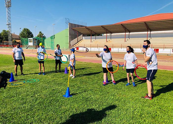 Alcázar celebra el I Campus de Deporte Adaptado
