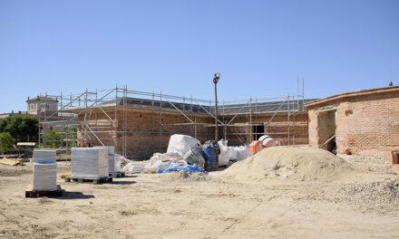 Las obras del Gallinero del palacio del Infante D. Luis concluirán en diciembre