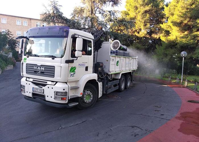 El Ayuntamiento de Pozuelo de Alarcón continúa con la desinfección para prevenir la Covid-19