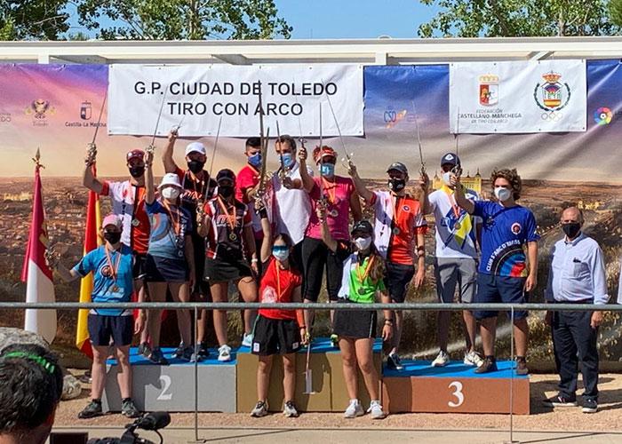 Toledo acoge con éxito el 3º Gran Premio de España de Tiro con Arco con más de 130 arqueros