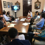 El Ayuntamiento de Jaén recaba del Colegio de Periodistas de Jaén la adhesión e implicación social del colectivo con el Plan Colce