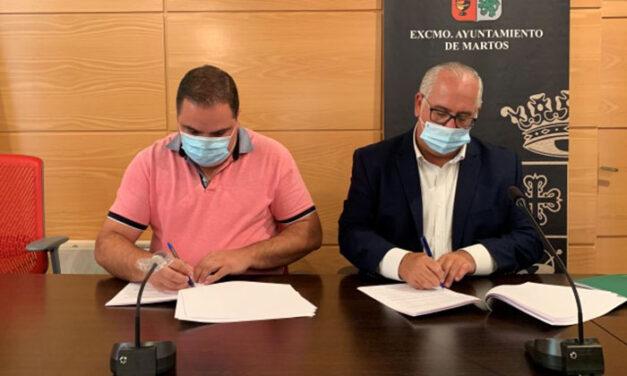 Nuevo impulso al proyecto de 'Ciudad Amable' con la firma del convenio de ejecución y financiación de estas obras en el entorno de la fortaleza baja