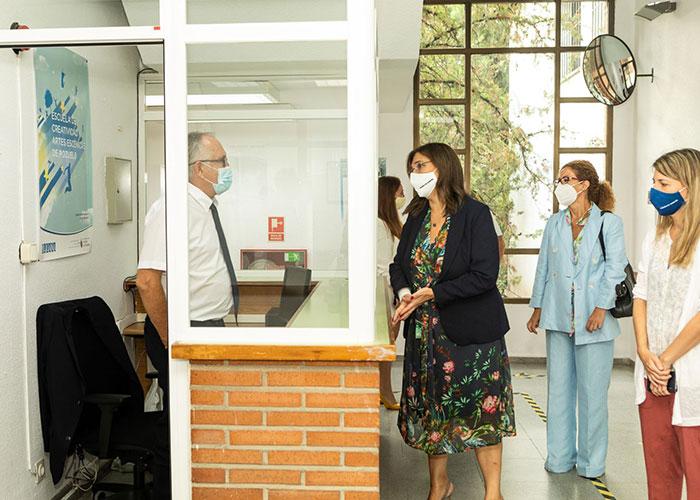 33 alumnos del colegio público Infanta Elena empiezan sus clases en la Sala Educarte