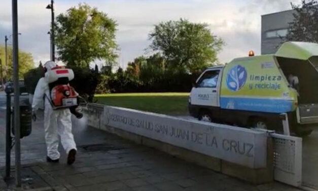El Ayuntamiento de Pozuelo de Alarcón intensifica la limpieza en los centros de salud
