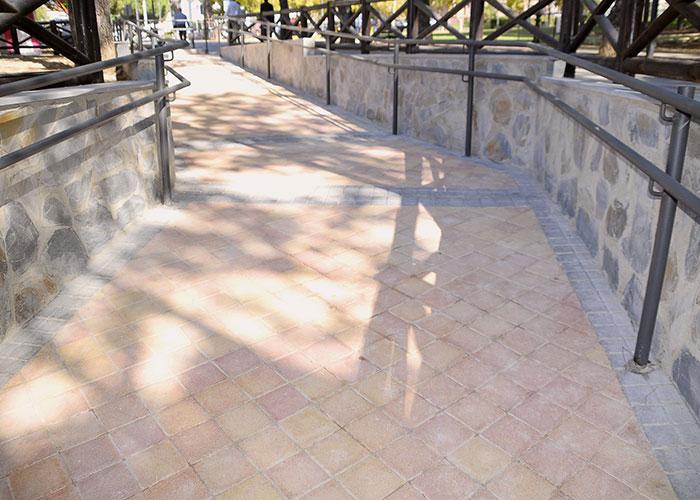 Finalizan las obras de la conexión peatonal entre las calles Albarracín y Sigüenza