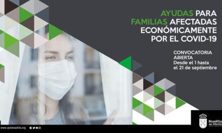 Boadilla destina tres millones de euros a ayudas para familias afectadas económicamente por el COVID-19