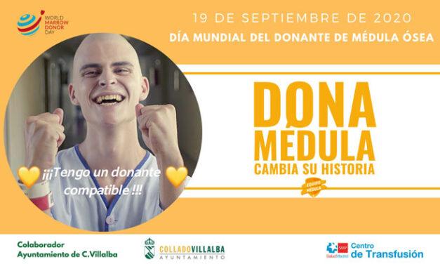 El Ayuntamiento de Collado Villalba anima a los jóvenes a registrarse como donantes de médula ósea