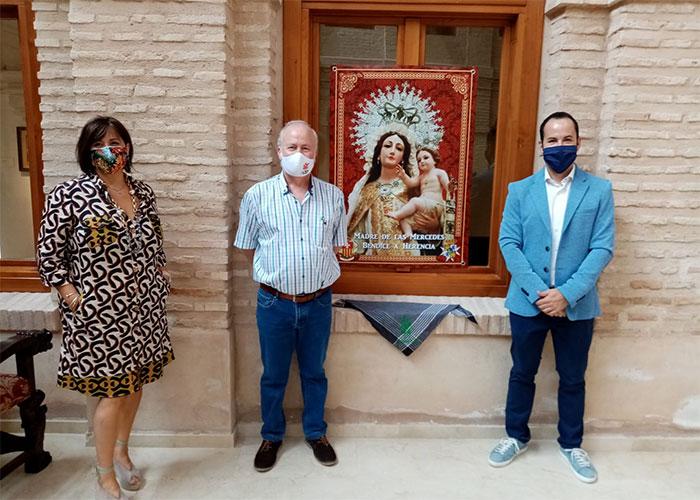 Ayuntamiento de Herencia, Padres Mercedarios, VOT y Hermandad, animan a los vecinos y vecinas a engalanar la localidad en honor a la Virgen de las Mercedes