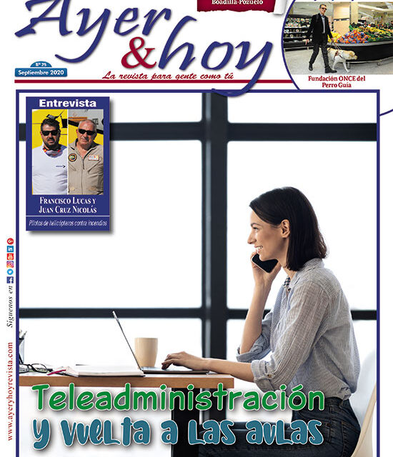 Ayer & hoy – Boadilla-Pozuelo – Revista Septiembre 2020
