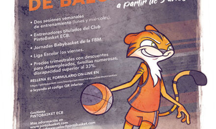 Apúntante a la Escuela de Baloncesto Pintobasket
