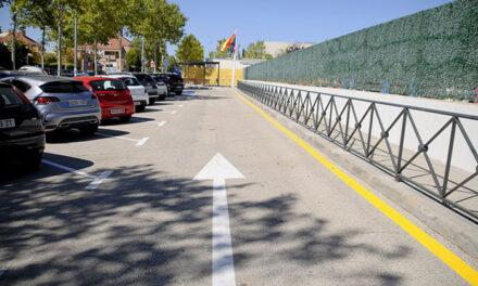 Finalizan las obras del aparcamiento del CEIP Teresa Berganza