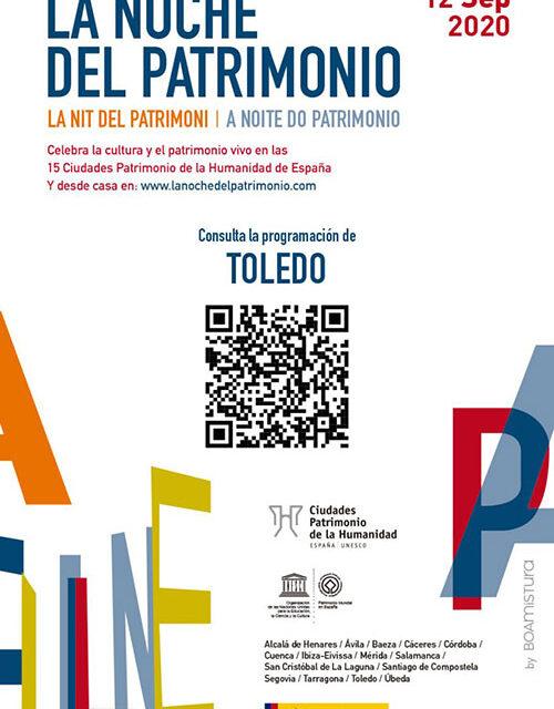 """La Noche del Patrimonio será """"segura y ejemplar"""" y permitirá disfrutar de Toledo de forma sencilla, testimonial y responsable"""