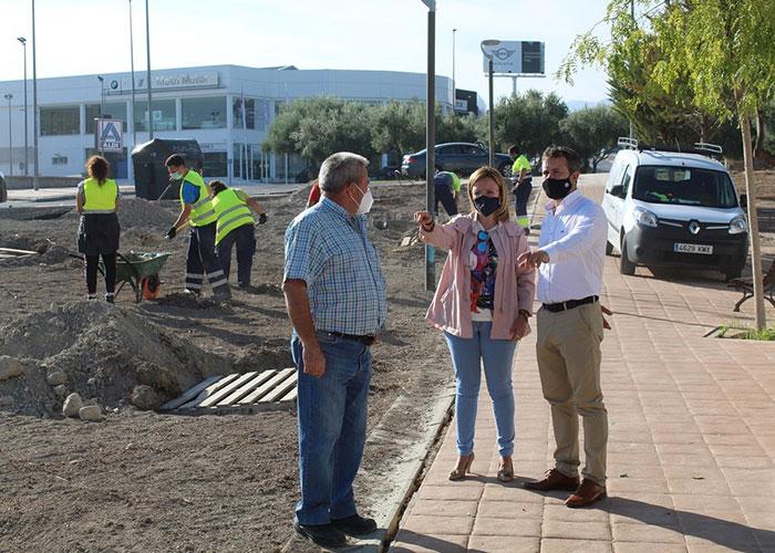 El Ayuntamiento de Jaén trabaja en la recuperación de la calle Himilce