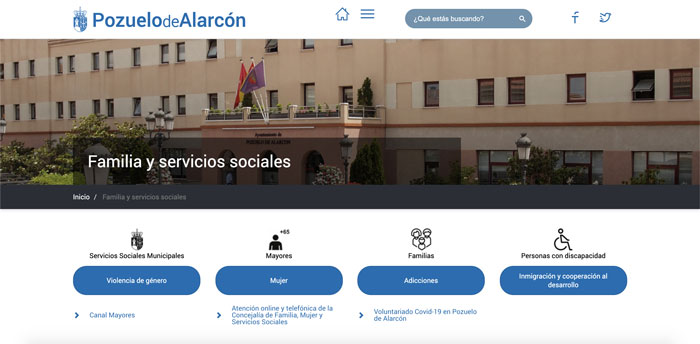 El Ayuntamiento de Pozuelo pone en marcha el CANAL MAYORES en la web municipal para acercarles a sus hogares información, actividades y talleres