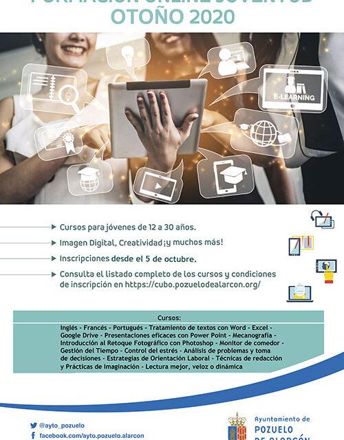 El Ayuntamiento de Pozuelo pone en marcha un nuevo programa de formación online para jóvenes