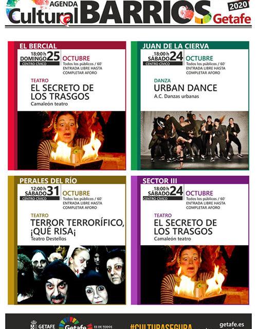 Getafe retoma la Agenda Cultural en Barrios