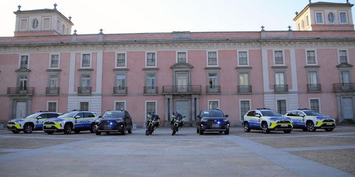 La Policía Local de Boadilla incorpora otros seis vehículos 4×4 híbridos a su flota