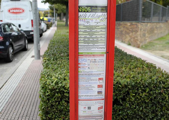Los buses de la línea nocturna N905 tendrán desde hoy «paradas a demanda» para mujeres y menores de edad