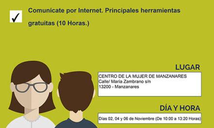 El Centro de la Mujer de Manzanares organiza dos talleres para navegar por Internet de manera segura