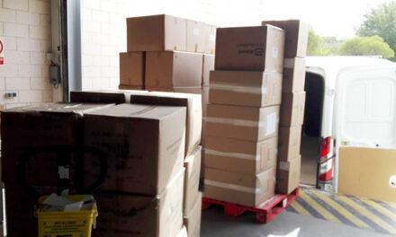 El Gobierno de Castilla-La Mancha reparte 180.000 artículos de protección en la provincia de Ciudad Real